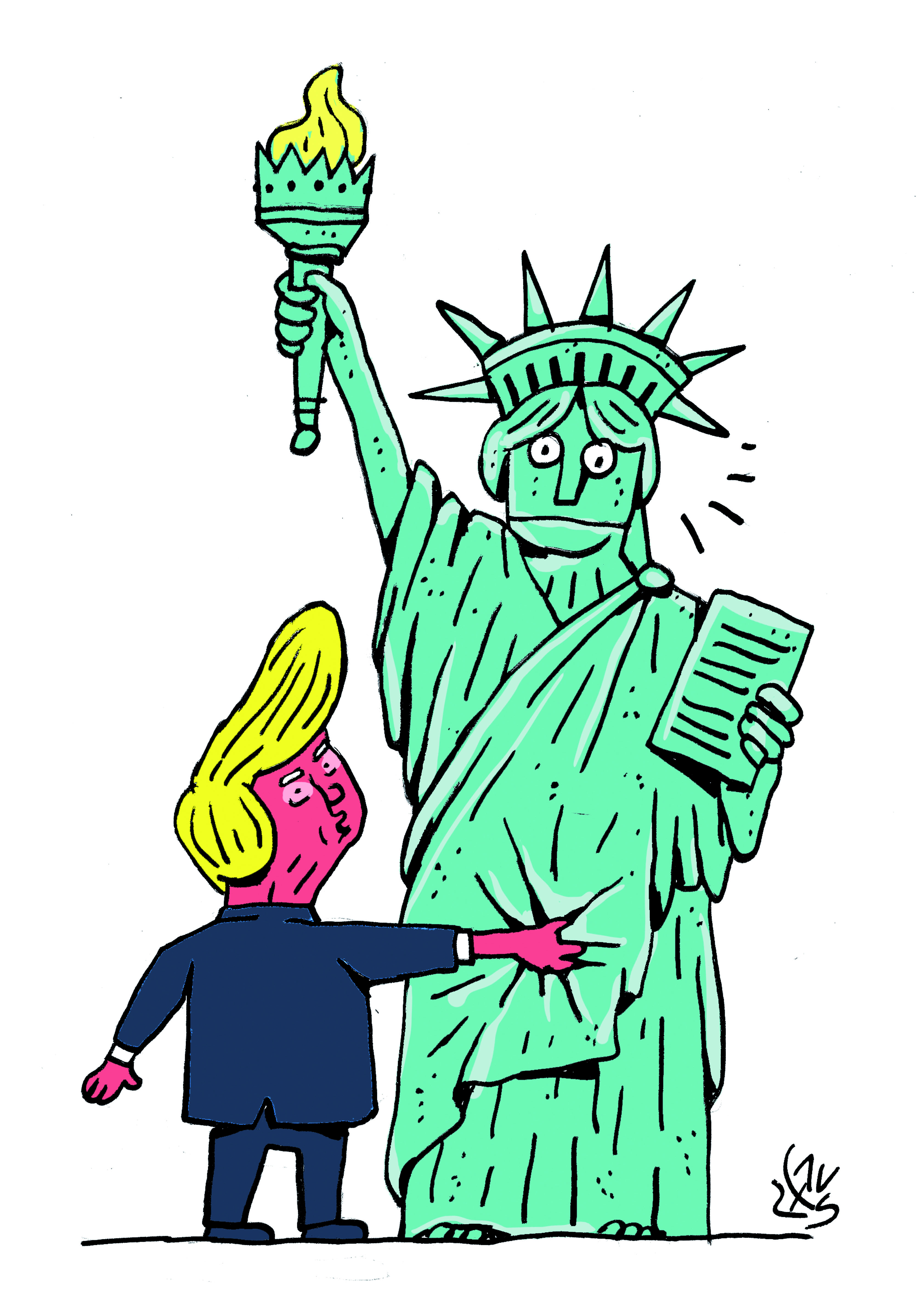 Groping Trump