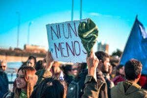 Marcha Ni Una Menos en Santa Fe, Argentina / Photo By: TitiNicola