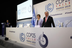 Conference Secretary General Antonio Guterres and Executive Secretary Patricia Espinosa / Photo By: UNClimate Change
