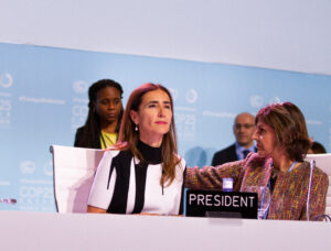 Opening conference COP25 DAY 2. COP25 President Carolina Schmidt / Photo By: UNClimateChange